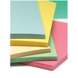 Thin Recycled Card Pastel Colours