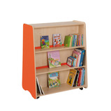 Trudy Tall Double Sided Bookcase