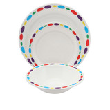 Pebble Patterned Polycarbonate Tableware
