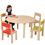 Round Beechwood Tables