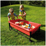 RED SAND AND WATER TRAY