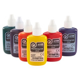 MARBLING INK 6X30ML SET FLUORESCENT