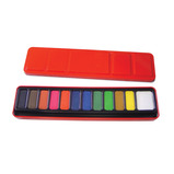 WATERCOLOUR TABLETS TIN OF 18 ASSTD