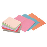 SQUARE CUT FOLDERS GREEN PK100