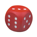 LARGE SOFT PLASTIC DICE