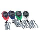 COLOUR CODED STOPWATCHES PK4