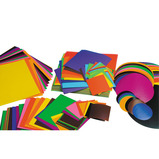 Gummed Paper Square Assortment