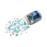 Stars and Snowflake Sequin Shaker