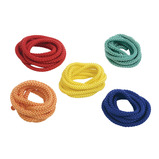 COLOURED SKIPPING ROPES PK5