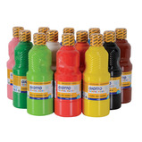 WASHABLE PAINT PK12X500ML ASSTD