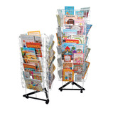 3 SIDED MOBILE BOOK STAND