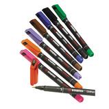 OHP PEN FINE PERMANENT PACK OF 8