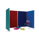 SPACE DIVIDERS 1500X1200MM CLARET