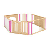 TRUDY PLAY PEN SET OF 6 PINK