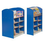 Static Double Sided Bookcases