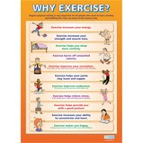 EXERCISE POSTERS SET