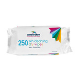 The Consortium Patient Cleansing Wipes Regular