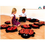 LADYBIRD COUNTING STORY CUSHIONS PK13