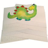 A4 WHITE EMBOSSED CARD