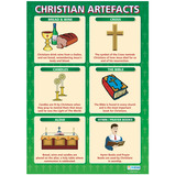 Religious Artefacts Poster Set
