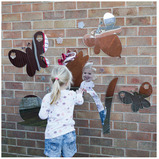 Mini Beasts Garden Outdoor Mirrors