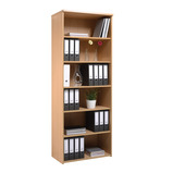 VALUE BOOKCASE 800X470X740MM BEECH