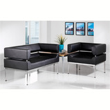 BENOTTO 2 SEATER SOFA BLACK
