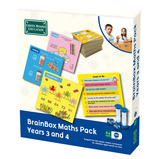 BrainBox Maths Pack Years 3 and 4