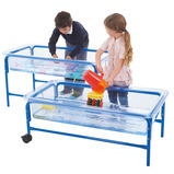 Sand and Water Tray and Activity Rack