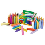 CRAYOLA WASHABLE SIDEWALK CHALK PK48
