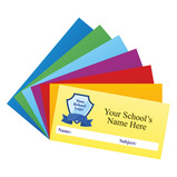 Personalised Logo Coloured School Stickers - Large