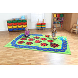 Back to Nature™ Alphabet Caterpillar Carpet