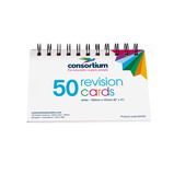 TC SPIRAL BOUND REVISION CARDS PK50