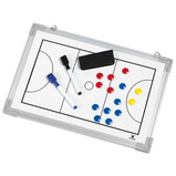 MAGNETIC WHITE BOARD NETBALL