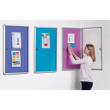 ACCENTS TAMPERPROOF NOTICEBOARD