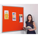 ACCENTS ALUMINIUM FRAMED NOTICEBOARD