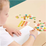 Coloured Plastic Place Value Counters