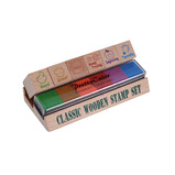 MOTIVATION WOODEN STAMP SET