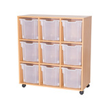 Mobile 9 Jumbo Tray Storage