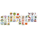 SEASONS PUZZLES SET OF 4