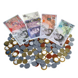 Sterling Coins & Notes Set