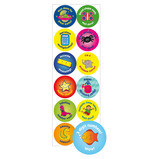 24MM MOTIVATIONAL STICKERS NUMERACY