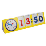 24 Hour Time Clock & Flip Stand