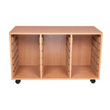 VALUE 18TRY STORAGE UNIT TRAYS ORNGE