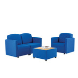 GLACIER BUNDLE SOFA A/CHAIR TABLE CL