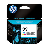 HP No 22 Inkjet Print Cartridge Tri Colour