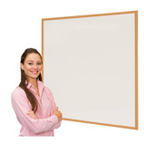 Eco-Friendly Drywipe Whiteboards Blue Frame