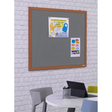 Eco-Friendly Wood Effect Frame Noticeboards