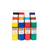 ACRYLIC PAINT NONSPILL TOP ASSTD COL