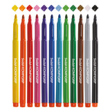 Value Triangular Shaped Colouring Pens